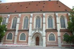 Kathedraal in Ingolstadt in Duitsland Royalty-vrije Stock Foto