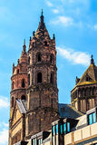 Kathedraal Kaiserdom in Wormen, Duitsland Royalty-vrije Stock Foto
