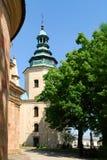Kathedraal in Kielce. Polen Stock Afbeeldingen