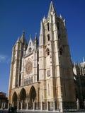 Kathedraal Leà ³ n Stock Foto's