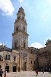 Kathedraal in Lecce Royalty-vrije Stock Afbeelding