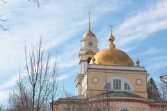 Kathedraal in Lipetsk Royalty-vrije Stock Foto's