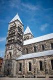 Kathedraal in Lund Royalty-vrije Stock Afbeeldingen