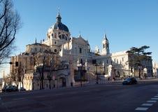 Kathedraal in Madrid Stock Afbeeldingen