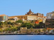 Kathedraal in Mahon op Minorca Royalty-vrije Stock Foto's
