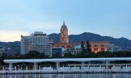 Kathedraal in Malaga, Spanje Royalty-vrije Stock Foto