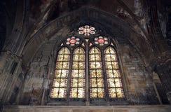 Kathedraal in Metz Stock Foto's