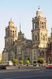 Kathedraal, Mexico II Stock Afbeeldingen