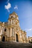 Kathedraal, Modica, Italië Royalty-vrije Stock Afbeeldingen