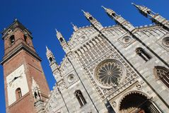 Kathedraal, Monza Stock Afbeeldingen