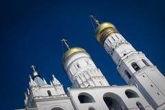 Kathedraal in Moskou Royalty-vrije Stock Afbeeldingen