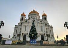 Kathedraal in Moskou Stock Fotografie