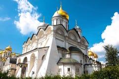 Kathedraal in Moskou het Kremlin, Rusland Stock Afbeelding