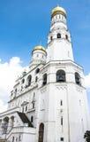 Kathedraal in Moskou het Kremlin, Rusland Stock Afbeeldingen