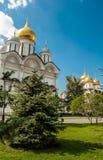 Kathedraal in Moskou het Kremlin, Rusland Stock Foto's