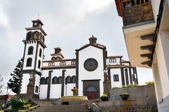 Kathedraal in Moya stock afbeelding