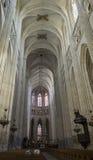 Kathedraal Nantes Stock Afbeelding