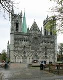 Kathedraal in Noorwegen Stock Foto
