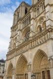 Kathedraal Notre Dame de Paris Stock Afbeelding