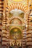 Kathedraal Notre Dame, Marseille Royalty-vrije Stock Afbeeldingen