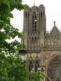 Kathedraal Notre-Dame, Reims Stock Foto's
