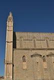 Kathedraal in Orvieto - Italië Stock Foto