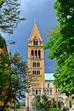 Kathedraal Pécs stock foto's