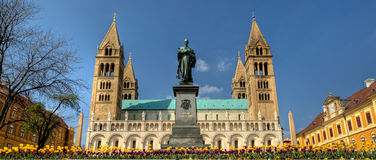 Kathedraal Pécs - Hongarije Royalty-vrije Stock Foto