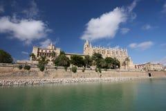 Kathedraal, Palma DE Mallorca Royalty-vrije Stock Foto's