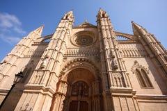 Kathedraal, Palma DE Mallorca Royalty-vrije Stock Afbeelding