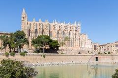 Kathedraal in Palma de Mallorca Royalty-vrije Stock Afbeeldingen