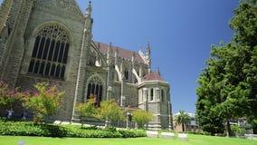 Kathedraal Perth Westelijk Australië stock video