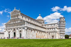 Kathedraal in Pisa Stock Foto's