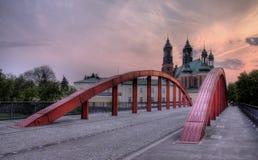 Kathedraal in Poznan Royalty-vrije Stock Afbeeldingen