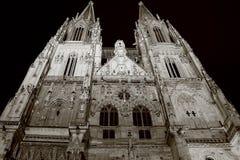 Kathedraal in Regensburg Stock Afbeelding