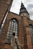 Kathedraal in Riga stock foto