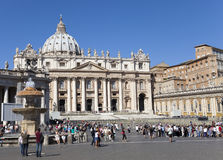 Kathedraal, Rome, Italië op 20 September, 2010 in Vatikaan, Rome, Italië Stock Fotografie
