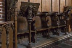 Kathedraal in Roskilde, Denemarken royalty-vrije stock fotografie