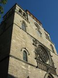 Kathedraal Saint-Etienne in Cah Stock Foto
