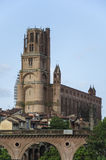 Kathedraal sainte-Cecile van Albi, Albi Frankrijk Stock Foto