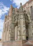 Kathedraal sainte-Cecile van Albi, Frankrijk Stock Afbeeldingen