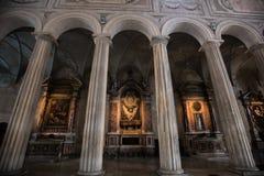 Kathedraal San Pietro in Vincoli, Rome, Italië Stock Foto's