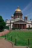 Kathedraal in sankt-Petersburg royalty-vrije stock afbeelding