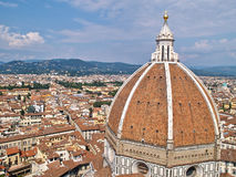 Kathedraal Santa Maria del Fiore in Florence, Italië Stock Foto