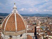 Kathedraal Santa Maria del Fiore in Florence, Italië Royalty-vrije Stock Foto's