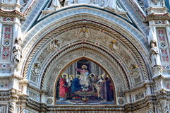 Kathedraal Santa Maria del Fiore in Florence, Italië Royalty-vrije Stock Afbeelding