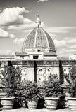 Kathedraal Santa Maria del Fiore in Florence, Toscanië, Italië, col. stock foto
