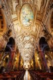 Kathedraal Santiago de Chile royalty-vrije stock afbeeldingen