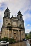 Kathedraal - Santiago DE Compostela, Spanje stock foto