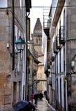 Kathedraal - Santiago DE Compostela, Spanje stock foto's